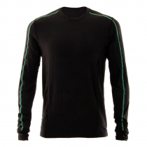Ridgeline Mens Stealth Long Sleeve Thermal Shirt Black