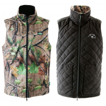 Ridgeline Scurry Reversible Vest Nature Green/Black