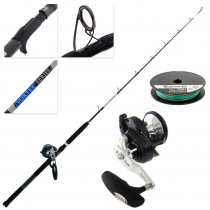 Shimano Torium 16PG and Vortex OH Mechanical Jigging Combo with Braid 5ft 5in 15-24kg 1pc