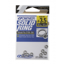 Owner P14 Solid Rings #3.5 65lb Qty 9