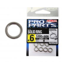 Owner P14 Solid Rings #6 220lb Qty 8