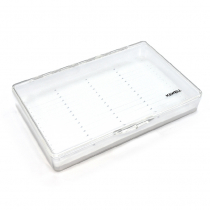 Kilwell ABS Plastic Fly Box with Slit Foam Liner Large