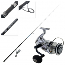 Shimano Saragosa 10000 SW and Energy Concept Topwater Spin Combo 8ft 3in 70-120g PE3-6 2pc