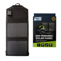 Hard Korr Dual USB Solar Panel Device Charger 12W 12V