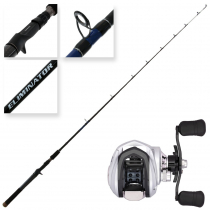 Daiwa Strikeforce 100SH and Eliminator 561MB Kayak Combo 5ft 6in 4-8kg 1pc