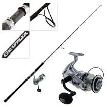 Shimano Saragosa 10000 SW and Grappler Type J S566 Spin Jig Combo 5ft 6in PE6 300g 2pc