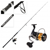 Shimano Stella 18000 SWB HG and Grappler Type C S82H Topwater Spin Combo 8'2'' PE8 2pc