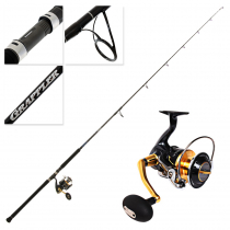 Shimano Stella 14000 SWBXG and Grappler Type C S82MH Topwater Spin Combo 8'2'' PE6 2pc