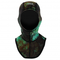 Aropec Lycra Spearfishing Dive Hood Camo Green