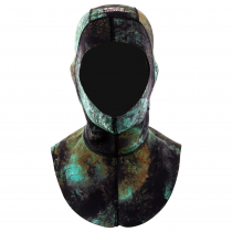 Aropec Spearfishing Dive Hood Camo Green 1.5mm