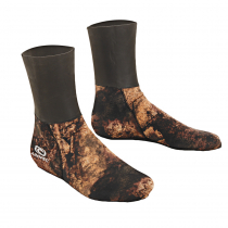 Aropec Mens Neoprene Spearfishing Dive Socks Copper Brown 3mm