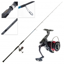 Shimano Stradic CI4+ 4000 FB-XG and Energy Concept Spin Jig Combo 6ft 4in 80-200g 1pc