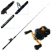 Daiwa Laguna 100H and Eliminator 561MB Trout Jig Combo 5ft 6in 4-8kg 1pc