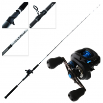 Shimano SLX DC 150 HG and Catana Slow Jig Combo 6ft 6in 10-20lb 1pc
