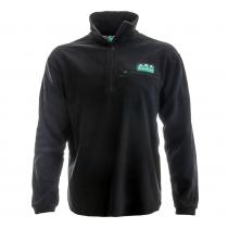 Ridgeline Microfleece Zip Jersey Black