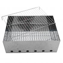 Kiwi Sizzler 2-Tray Stainless Steel Portable Smoker Large