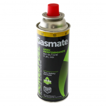 Gasmate Power Fuel Iso-butane Canisters 220g Qty 4
