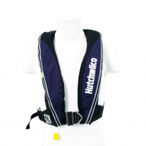 Hutchwilco Super Comfort 170N Manual Inflatable Life Jacket with Deck Harness Navy