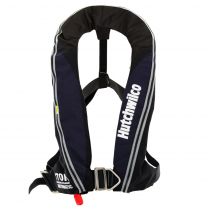 Hutchwilco Super Comfort 170N Auto Inflatable Life Jacket with Deck Harness Navy