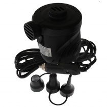Cigarette Lighter Connect Pump with 3 Adapters 12V
