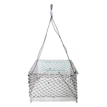 Nacsan Deluxe Folding Square Steel Cray Pot