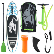 Waxenwolf Pioneer Inflatable Stand Up Paddle Board Package 10ft 6in
