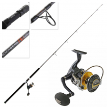 Shimano Stella 10000 Backbone Spinning Topwater Combo 8ft 3in 30-50lb 2pc