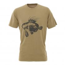LegaSea X Barkers John Dory Mens T-Shirt Khaki