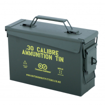 Outdoor Outfitters 30Cal Ammunition Tin Lockable X1