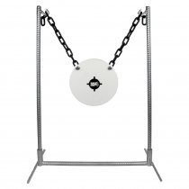 King Gong 10in Steel Gong Target and Stand Set