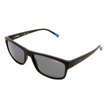 Arnette Lastarria Polarised Sunglasses Matte Black Frame Grey Lens