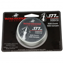 Daisy Winchester .177 Caliber Pointed Pellets 500 Count