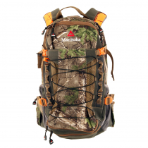Manitoba Adventure Pack with Rifle Scabbard and Bladder 25L Realtree Camo