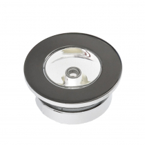 Compact LED Courtesy Light - Chrome Plated Brass 0.24w White
