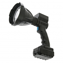 Night Saber Rechargeable Handheld LED Spotlight 120mm 65w 6500 Lumens