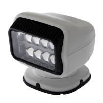 GOLIGHT Radioray GT 20074GT LED Spotlight White with Handheld and Dash Remote