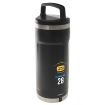 OtterBox Elevation Growler with Screw-in Lid 28oz Silver Panther Black