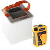 Ocean Signal RescueMe PLB1 and LuminAID PackLite Nova Solar Lantern Safety Bundle Pack
