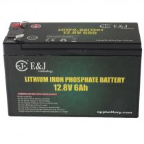E&J LiFePO4 Rechargeable Lithium Deep Cycle Battery 12.8V 6Ah