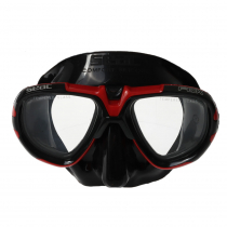Seac Fox Adult Dive Mask Red/Black