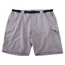 Ridgeline Moray Mens Shorts with Belt Grey 4XL