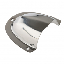 Thru-Hull SS304 Polished Vent and Cable Cover