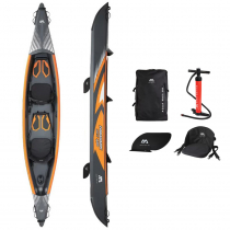 Aqua Marina Air-K 440 Tomahawk 2-Person High-End Kayak 14ft 5in