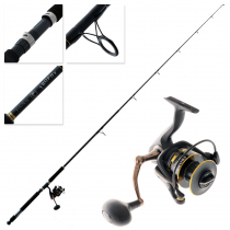 Fin-Nor Trophy 60 Spinning Combo 8ft 12-25lb 2pc