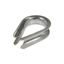 BLA Heavy-Duty Pressed Stainless Steel Thimbles - Per Piece