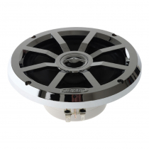 "Jensen MSX60CPR 6.5"" Coaxial Silver LED Speakers"