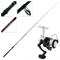 Dam Fighter Pro 120 Telescopic Spin Kids Combo with Line 6ft 5-20g 1pc