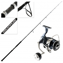 Shimano Twin Power SWC 8000HG Grappler Type C S80M Topwater Spin Combo 8ft PE5 2pc