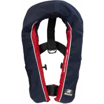 Baltic Winner 165N Manual Inflatable Life Jacket Navy/Red 40-150kg