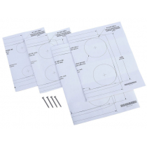 Lowrance FM-12 Flush Mount Installation Kit for HDS